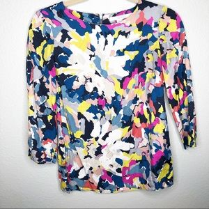 Boden Eliza Colorful Printed Blouse